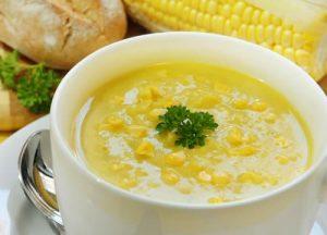 Kremalı mısır çorbası