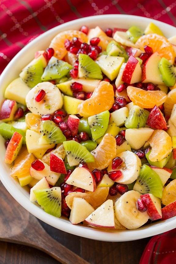 kış meyve salatası