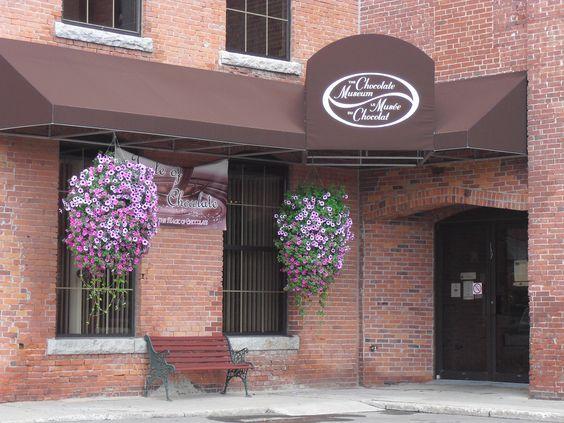 New Brunswick çikolata müzesi